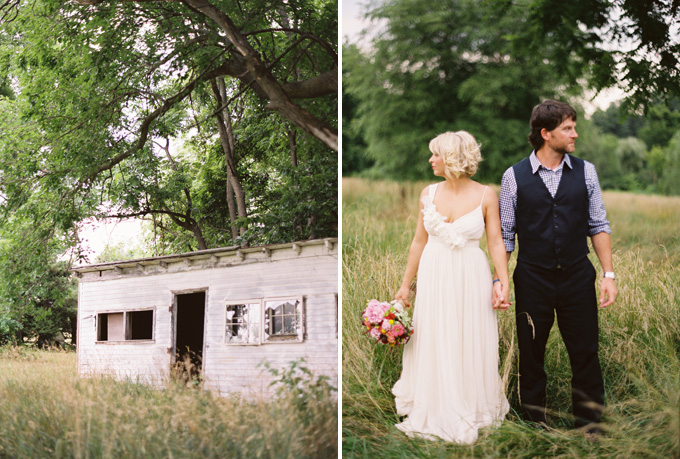 rustic virginia farm wedding